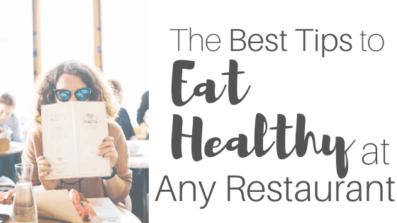 eat healthy at any restaurant