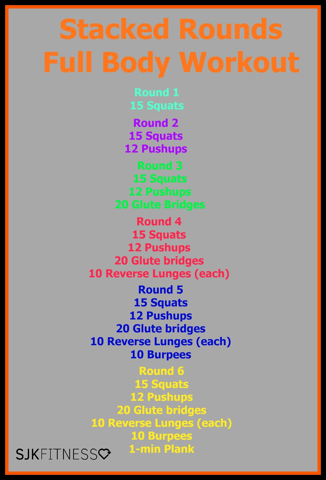 full body at home workout