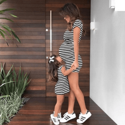 adorable matching mom and baby outfits