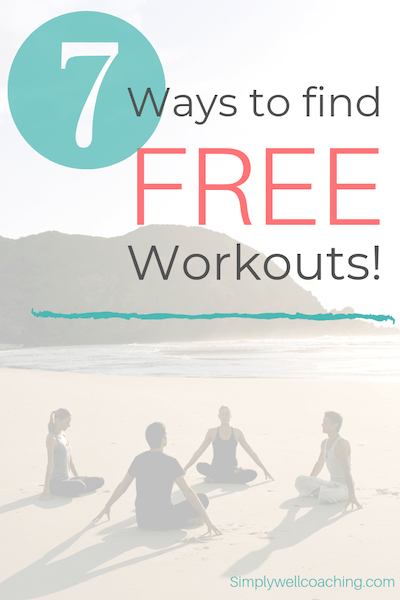 7 ways to find free workouts