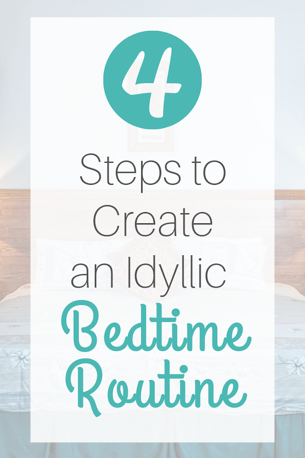create a better bedtime routine