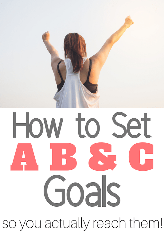 how to set and reach your goals