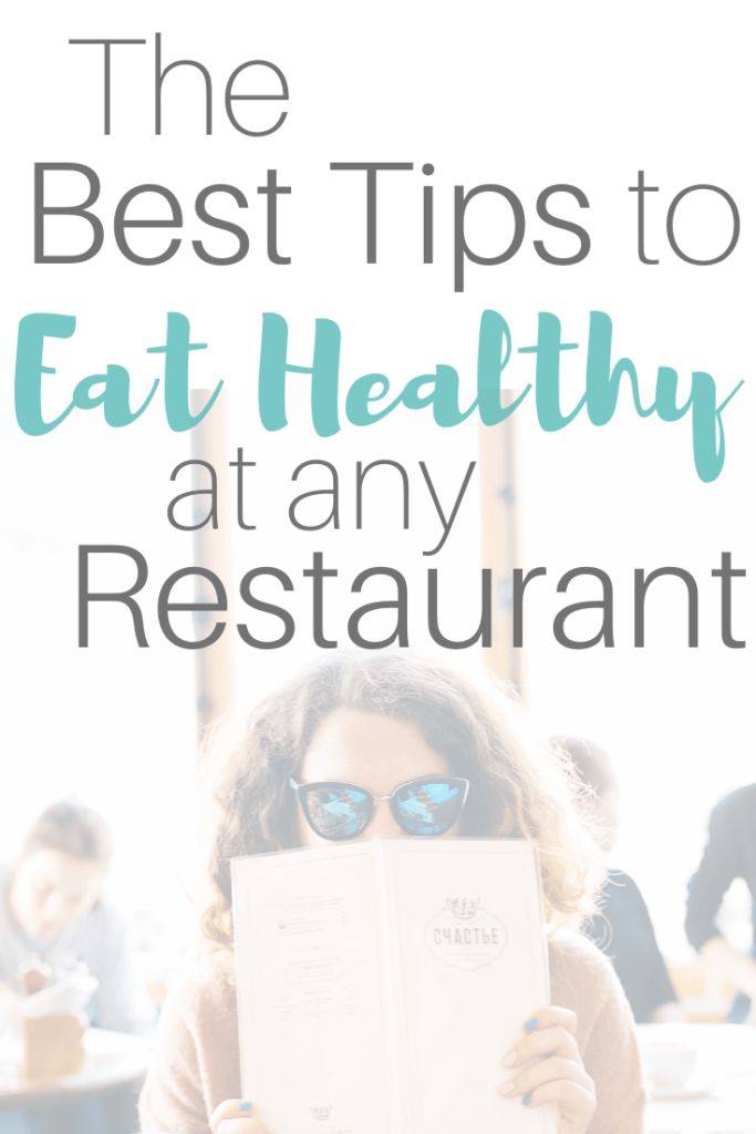 how to order healthy at any restaurant