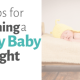soothing fussy baby at night
