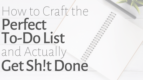 perfect to-do list