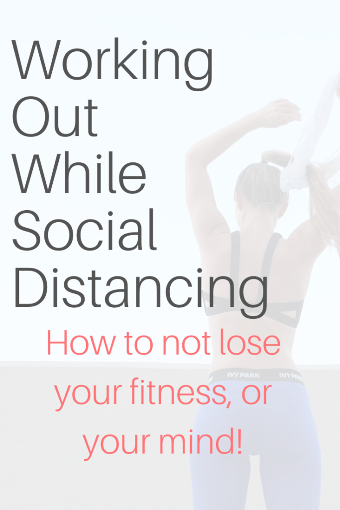 working out while social distancing