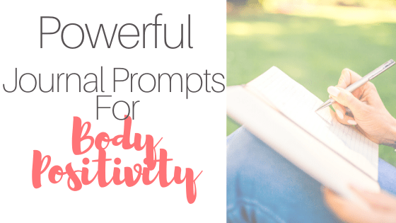journal prompts for body positivity