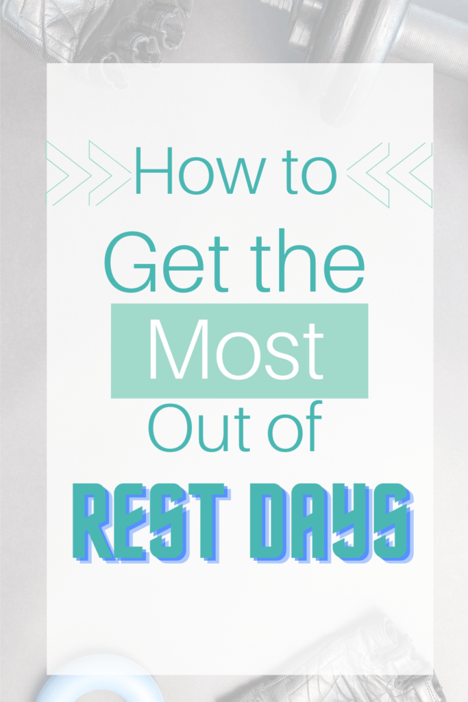 Rest days are a crucial part of any training plan. Here are some tips on how you can get the rest you need, without the guilt!