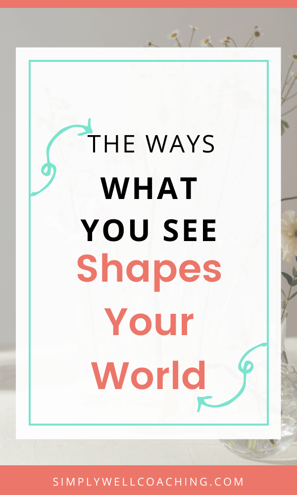 Our world view is made up of what we see on our feed, the shows we watch, the podcasts we listen to, and the thoughts we have about what is going on around us It's up to you to shape that to how you want to feel.